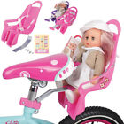 Bike Doll Carrier Seat Kids Girls Seats Dolls Bicycle Kit Educational Baby Gift