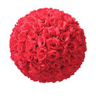 "5Pcs 6/8/10/12"" Silk Rose Pomander Flower Kissing Ball Wedding Party Venue Decor"