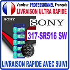 Pile 317-SR516SW 1.55V SONY Pile bouton QUALITÉ PREMIUM SONY MADE IN JAPAN