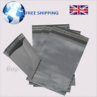 Grey Mailing Bags 9x12 Heavy Duty Good Quality Polythene Mailer Postal Sacks