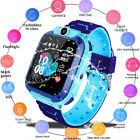 Waterproof Kids Smart Watch Anti-lost Safe GPS Tracker SOS Call pw