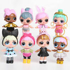 6/8PCS/SET LOL Lil Outrageous Surprise Series Dolls Kids Toy Gifts Cake Topper