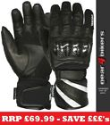 SALE Weise Oslo EXTRA LARGE Leather Short Waterproof Motorcycle Glove Gloves XL