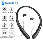 Wireless Headphone Sweatproof Earbuds Sport Neckband Bluetooth HD Stereo Headset