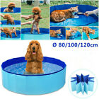 Dog Puppy Pool Foldable Bath Swimming Pool Kids Shower Dog Whelping Box XX-Larg