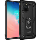 CoverON Samsung Galaxy Note 10 Lite / A81 Case Magnetic Ring Kickstand + Screen