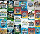 SKYLANDERS Game Disc CDs Giants Swap Force Trap Team Superchargers Imaginators