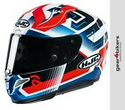 HJC RPHA 11 PRO Nectus Red White Blue Motorcycle Helmet Sport Race Track RPHA11