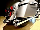 SuperTrapp 140-21820 Chrome Stout Slip-On Mufflers Indian Touring 14-20
