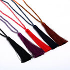 Women Boho Crystal Beads Tassel Necklace Long Sweater Chain Pendant Jewelry