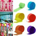 Crepe Paper Rolls Streamer Wedding Birthday Party Decoration Curtain D0w2
