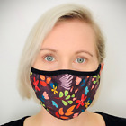 Face Mask virus UK Reusable Washable Mouth Cotton Cover double layer non medical <br/> ✅OVER 10,000 SOLD✅DOUBLE LAYER ✅HIGH QUALITY✅FREE POST