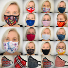 Kyпить Face Mask virus UK Reusable Washable Mouth Cotton Cover double layer non medical на еВаy.соm