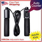 Jump Rope Counter Adjustable Bearing Speed Skipping Gym Fitness Crossfit Boxing