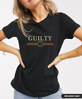 Womens Ladies GUILTY Short Sleeve Vogue Slogan Printed Fashion GUCCI T-shirt