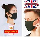 Breathable Mask Washable Black Reusable Face Mouth Protection UK <br/> ✅Reusable ✅Washing Machine Washable ✅Free Fast Dispatch