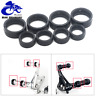 Universal Foot Pegs Footpegs Footrest Rubber Rings O-Ring 8pcs For Cruise Bike
