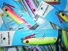 3 New Vertical Butterfly Knife Jigs YOUR CHOICE Tuna Fishing Saltwater Lures
