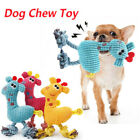 Pet Dog Puppy Chicken Chew Toy Squeaker Squeaky Soft Plush Play Sound Toy Cute