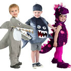 Kids Animal Costumes Cute Fish Dinosaur Shark Toddler Girl Boy Fancy Dress