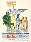 Dr No - 1962 Sean Connery - James Bond Movie Poster $42.46 CAD on eBay