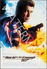 The World Is Not Enough - 1999 Pierce Brosnan - James Bond Movie Poster $24.95 AUD on eBay