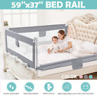 59' Adjustable Infant Bed Guard Rail Toddler Baby Safety Barrier Protection