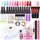 Poly Gel Nail Kit LED UV Nail Gel Polish  Dryer Lamp Manicure Pedicure Tools DIY - Best Reviews Guide