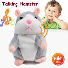Talking Hamster Toy Sound Recording Repeat What You Say Nod Mice Rat Plush Doll