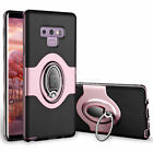 For Samsung Galaxy Note 8 9 10 S10 S9 S8 Plus Shockproof Ring Holder Case Cover