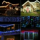 96-960LED Curtains icicle Light Indoor/Outdoor Decoration Fair Garden Patio Part