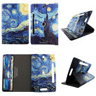 TABLET CASE FOR 10 INCH RCA VOYAGER FOLIO PU LEATHER COVER CARD CASH SLOTS STAND