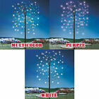 Tall Solar Powered Whimsical Classy LED Weeping Willow Garden Tree Decoration
