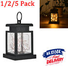 Waterproof LED Solar Powered Hanging Lantern Lights Outdoor Garden Table Lamp