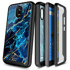 For Cricket Vision 2 Case, Full Body Phone Cover With Built-In Screen Protector