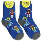 Robots Foozys Boys Kids Crew Socks