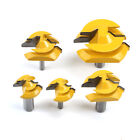 """45 Degree-Up to 1""""/ 1/2"""" / 3/4"""" Stock Lock Miter Router Bit - 1/2"""" / 1/4"""" Shank"""