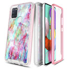 For Samsung Galaxy A21s Phone Case Full Body Built-In Screen Protector Cover