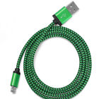 10ft Long Braided Micro USB Data Charging Cable For Android Phone Samsung Galaxy
