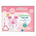 'Dr Browns Options  Anti - Colic Breast Like Teats, Bottles And Bottle Sets