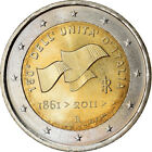 [#766118] Italien, 2 Euro, Unification, 2011, VZ, Bi-Metallic, KM:338