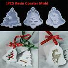 Christmas Hanging Tag Silicone Jewelry Mold Resin Epoxy Mould Casting Craft .M