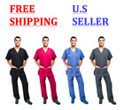 Kyпить Mens Medical Scrub Super Comfortable SET Top and Bottom - FREE & FAST SHIPPING на еВаy.соm