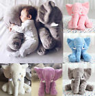 Baby Elephant Lumbar Pillow Long Nose Doll Pillow Soft Plush Doll Kid Toy