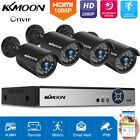 KKMOON 4/8CH H.265+ 1080P DVR Kit 2.0MP Outdoor CCTV Security Camera System S2P0