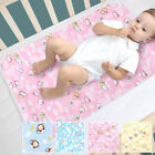 Changing Diaper Pad Cotton Washable Baby Infant Urine Mat Nappy Diaper Bed Pads