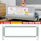 2m Kid Toddler Baby Bed Rail Guard Fence Bumper Playpen Cot Safe Equipment X