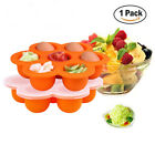 Eco Friendly Silicone Baby Food Freezer Storage Tray Cups Containers N3