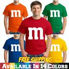 Kyпить M&M Group M and M Halloween Couples Costume Tee T Shirt на еВаy.соm