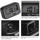 Stop Snooze Alarm Clock Digital Time Clock Night Light Home ABS Durable New